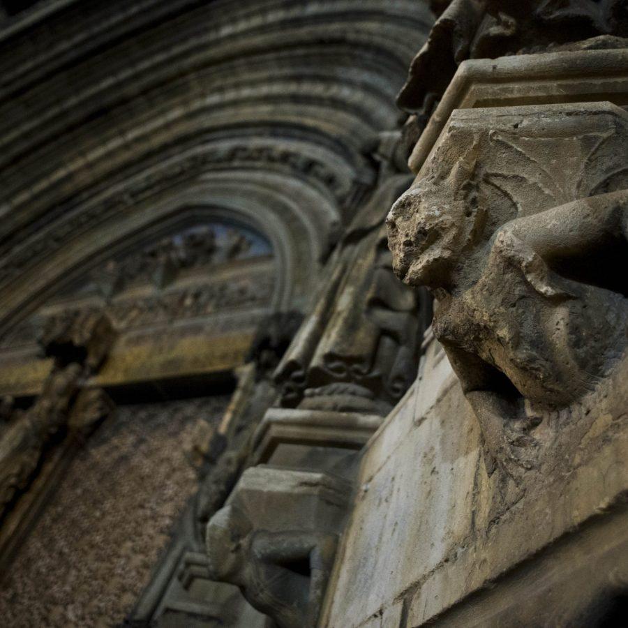 Morella fachada iglesia